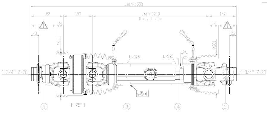 Pto Shaft Design : Heavy duty pto s
