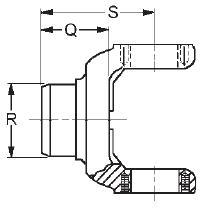 1610 Series Driveline Parts