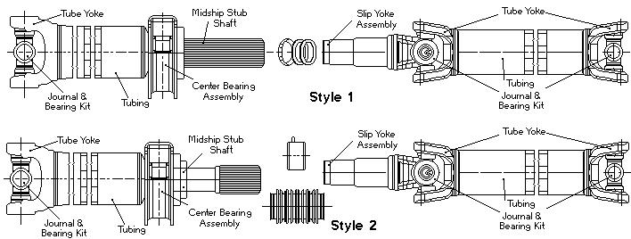 1350 Series Parts